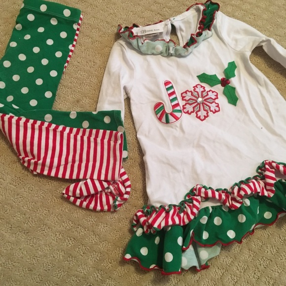 Bonnie Jean Christmas Outfits.Bonnie Jean Christmas Outfit 4t